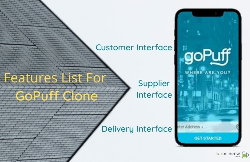 Features Of GoPuff Clone
